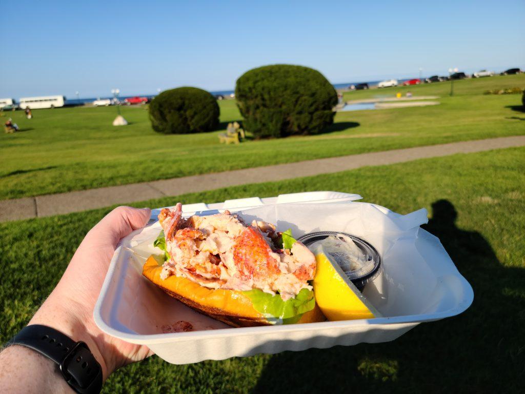 Lobster Roll at Marthas Vineyard