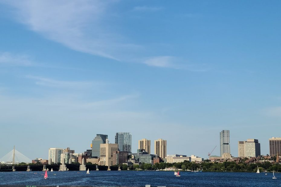 Boston Skyline from Harvard Bridge