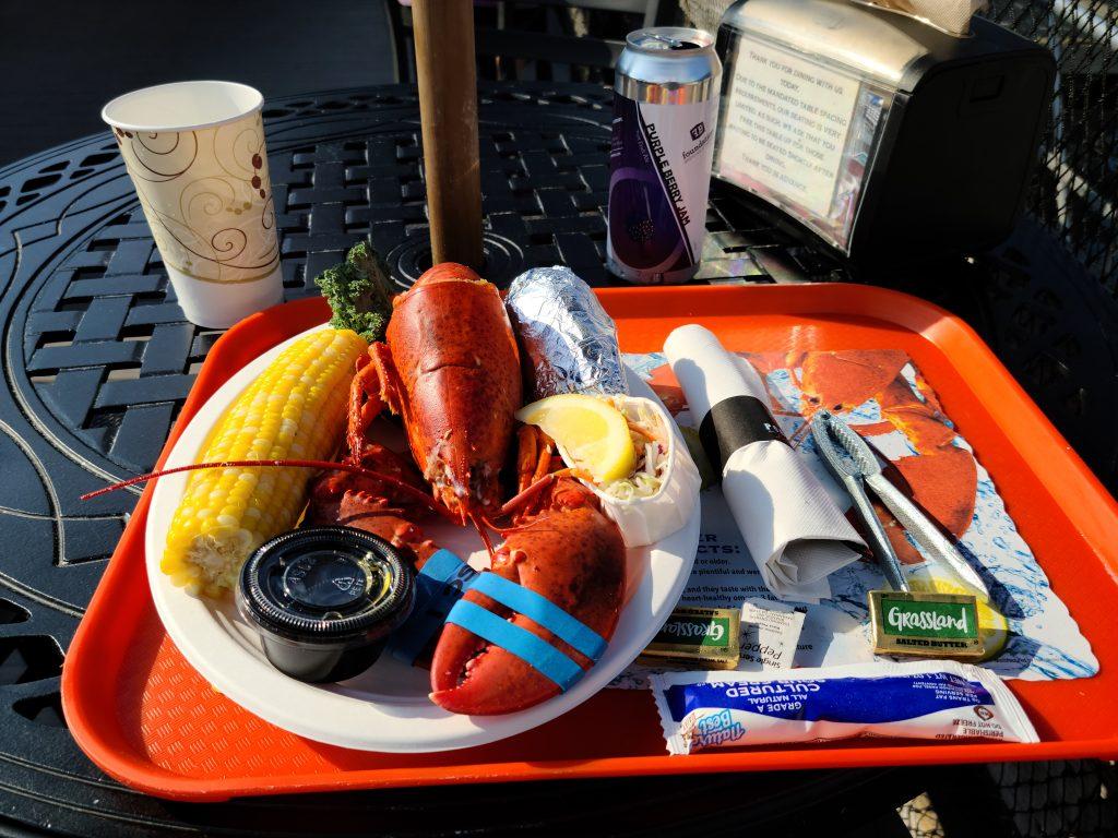 Lobster Dinner at Portland Lobster Co