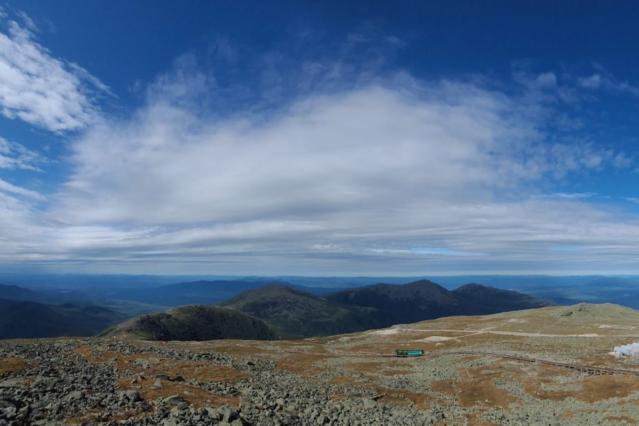 View from Mt Washington