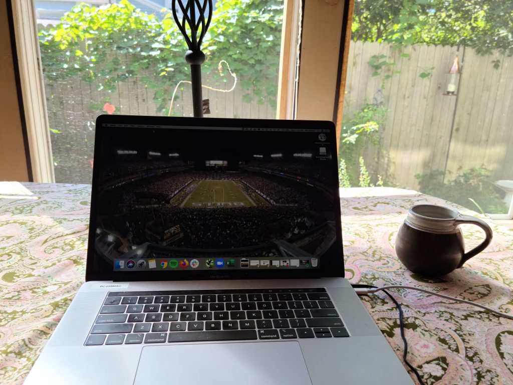 Working from the Road in Burlington, VT