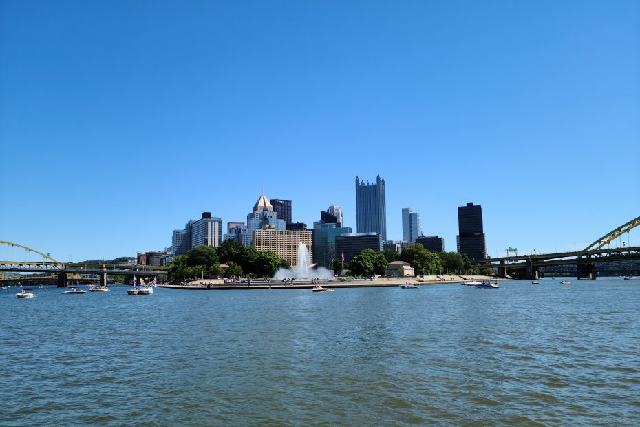 Pittsburgh Skyline on Gateway Clipper
