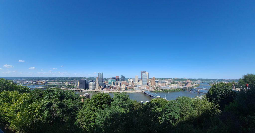 Pittsburgh Skyline from Mt Washington