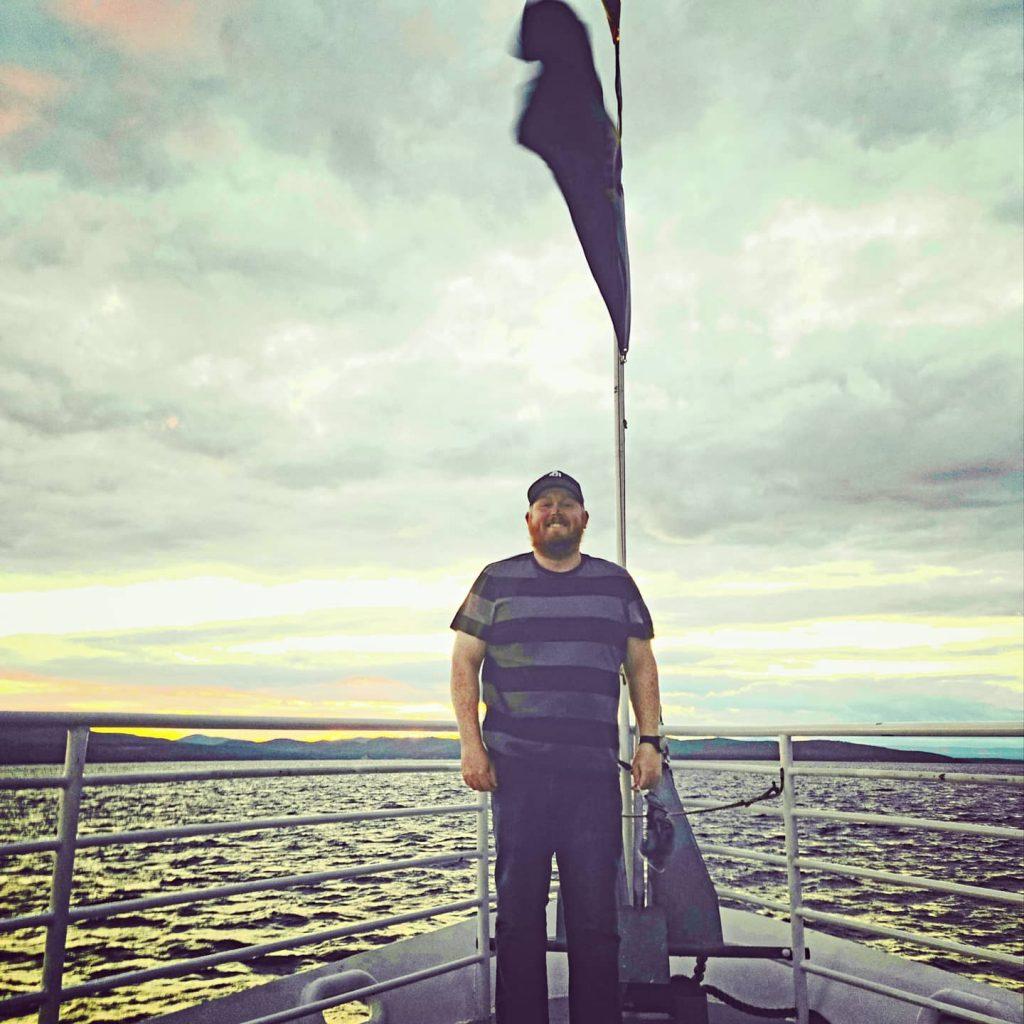 Cruising on Lake Champlain