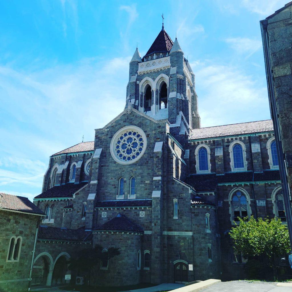 St Bernard Church where parents got married