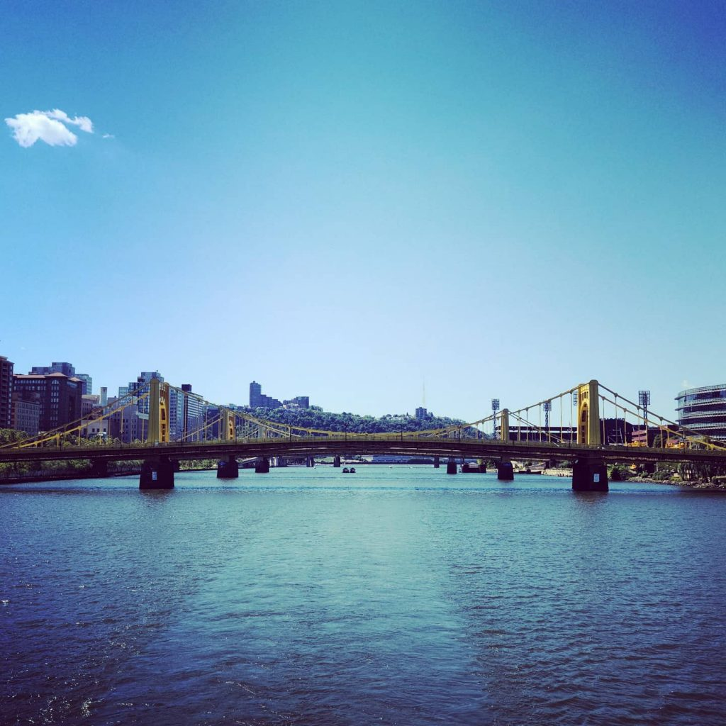 Pittsburgh Bridges from Allegheny River