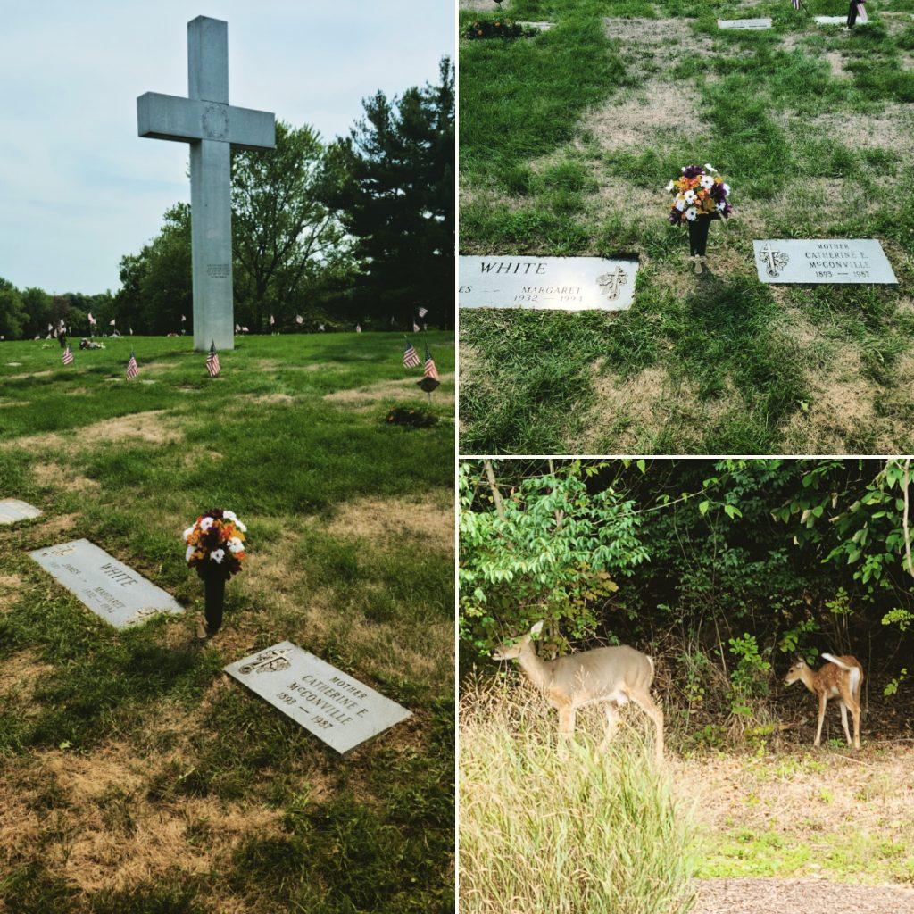 Grandma at Queen of Heaven Cemetery