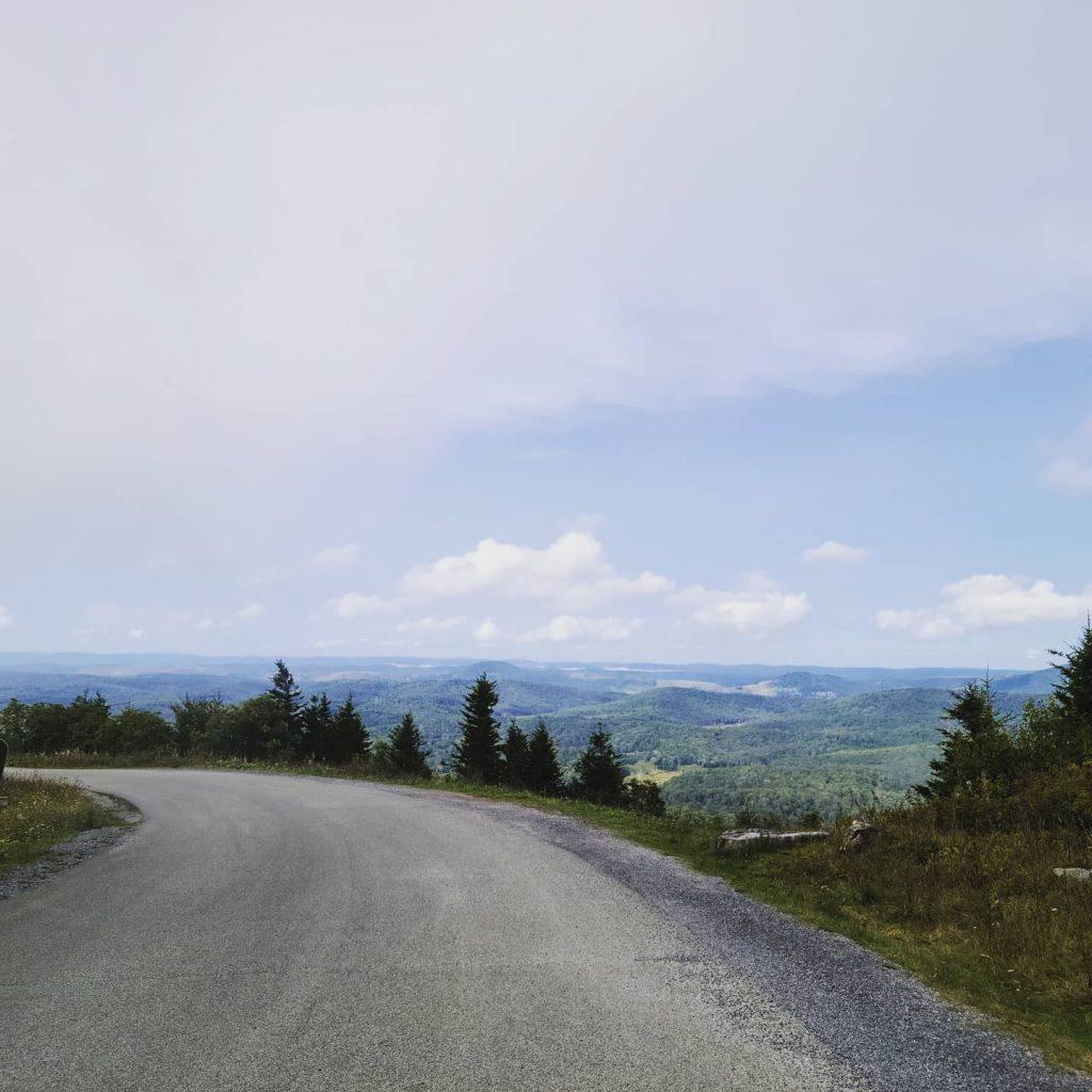Roads in Spruce Knob